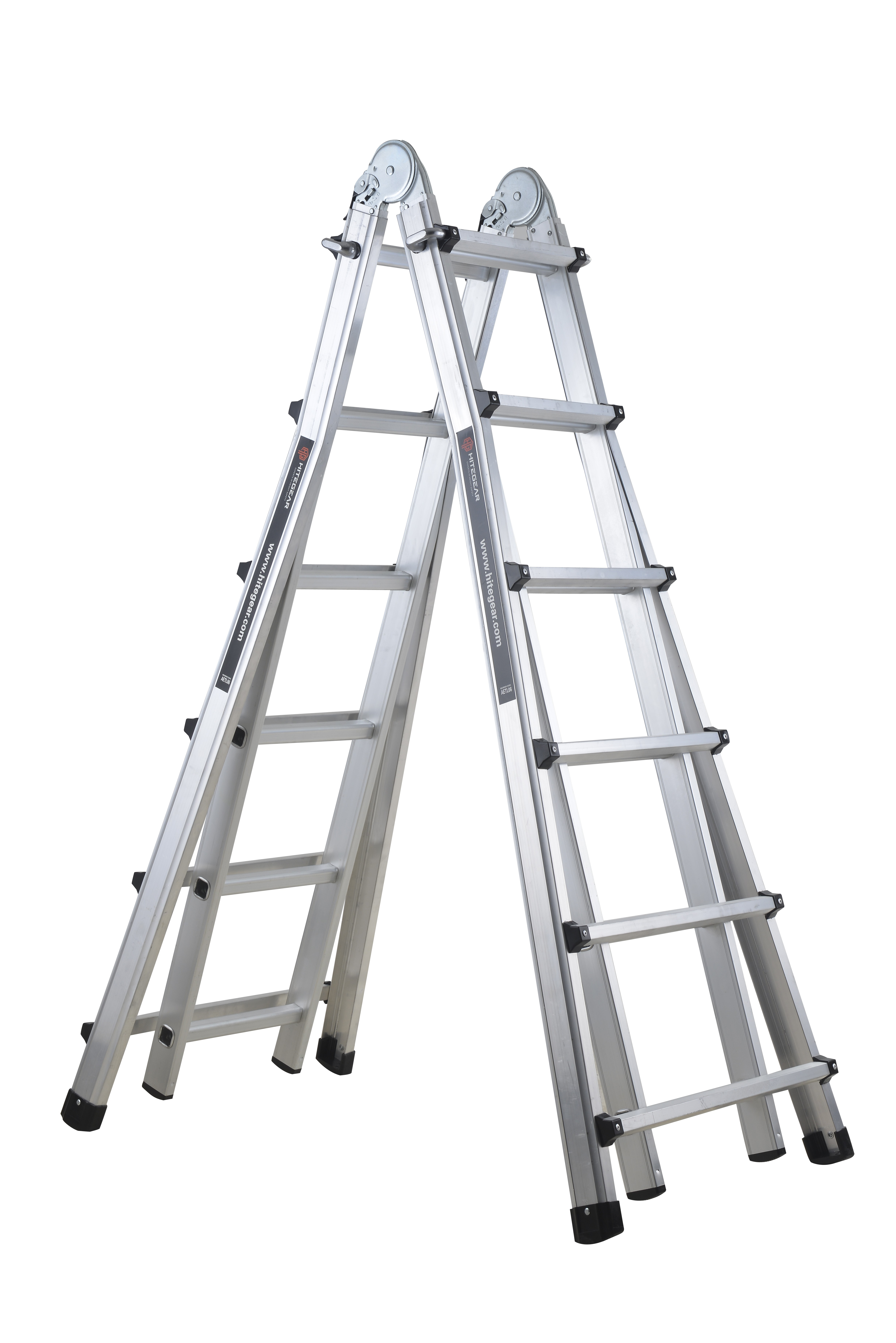 Hitegear - Experts in Height Safety - 4 X 6 Rung Telescopic Ladder