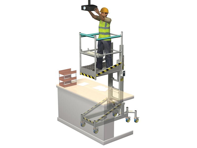 Cantilever Telescopic Work Platform