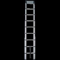 3.8M Soft Close Telescopic Extender Ladder EN131-6