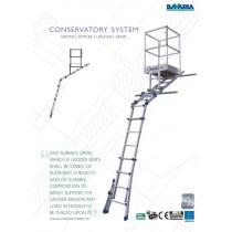 Bavaria Full Conservatory Platform Ladder System