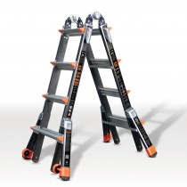 Glassfibre Telescopic Ladder System
