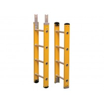 Glassfibre Sectional Surveyors Ladder