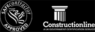 Safe Contractor and Constructionline - Approved